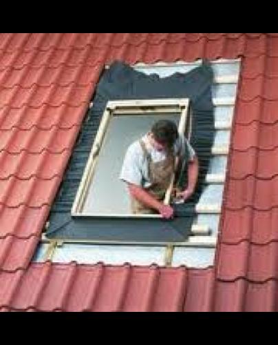 Waterkerend manchet voor dakraam
