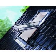 zinken buitenzijde dakvenster