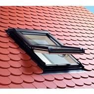 dakvenster voor pannen of leien dak