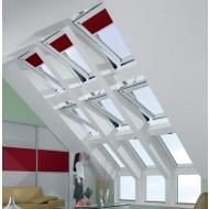 serie gekoppelde dakvensters Roto